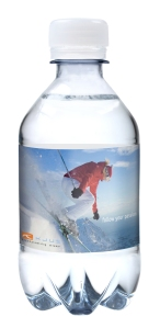 flesjes water relatiegeschenken