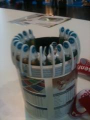pennen gespot in het wild