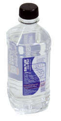Flesjes water als relatiegeschenk.