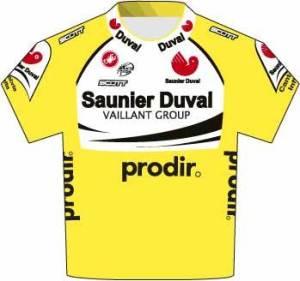 Saunier Duval gesponsord door Prodir.