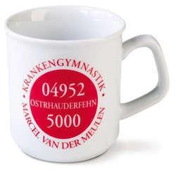 Koffiemokken met logo
