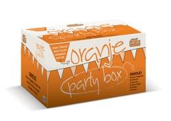 Oranje partybox voor EK 2012