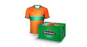 Heineken rugnummers kratjebier