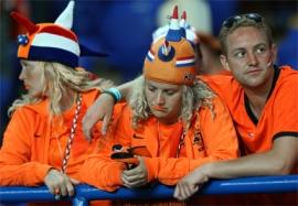 Teleurgestelde Oranje fans