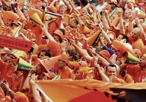 Oranje artikelen koorts