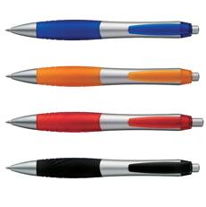 Promotionele pennen met chromen afwerking