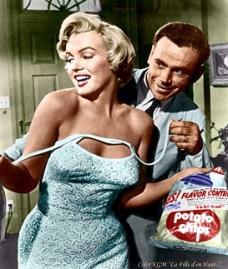 Film 1955 met sluikreclame