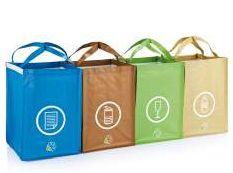 4 delige tassenset Zintuig.nl