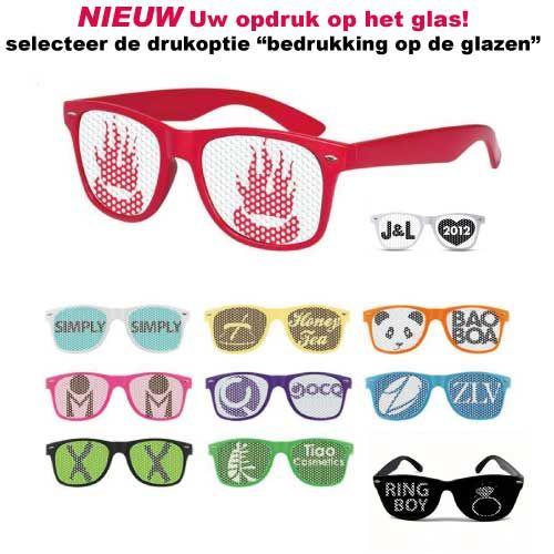 zonnebril bedrukken op glas