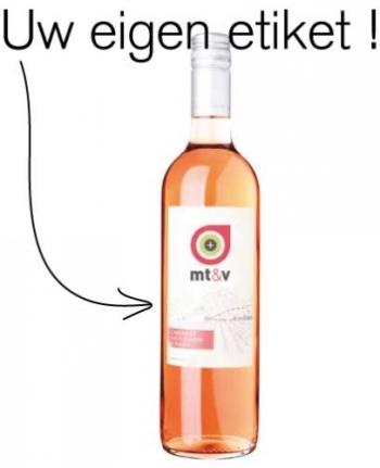 Super Vier zakelijk succes met wijn met eigen etiket  NY-08